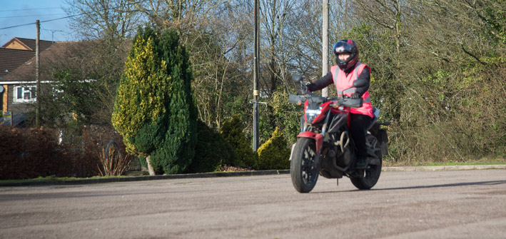 Motorcycle Practical Test – Module 1